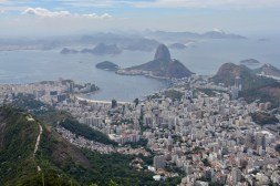 View of Rio from the Christ the Redeemer statue
