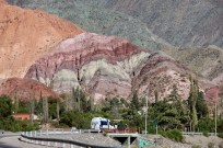 Hill of Seven Colours in Purmamarca, Argentina