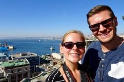 Selfie in Valparaiso, Chile