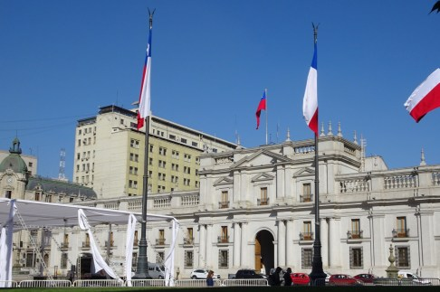 La Moneda Palace, Santiago, Chile