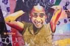 Murals in Valparaiso, Chile