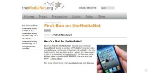 Medianet AudioBoo