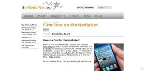 Medianet AudioBoo