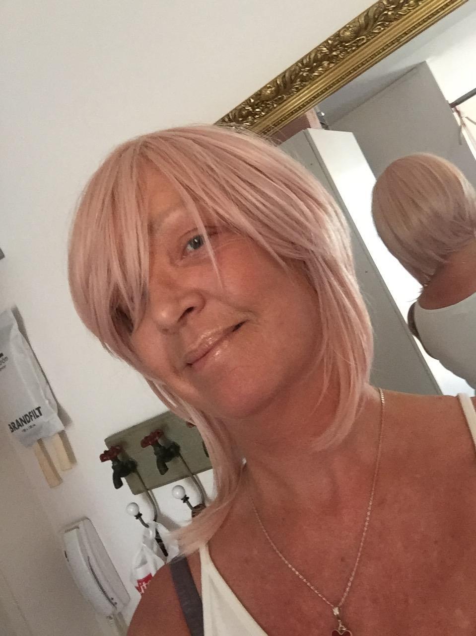 färga håret efter keratinbehandling