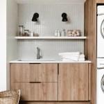 Diy Modern Laundry Room Reveal With Semihandmade