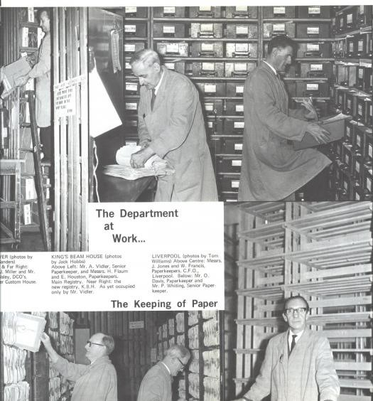 The World of Ephemera #3: The Department at Work