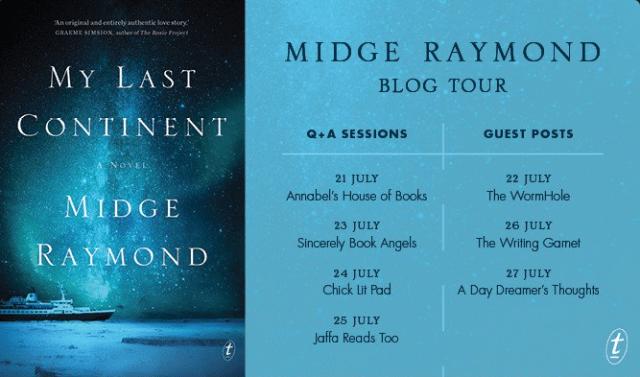 blog tour midge raymond