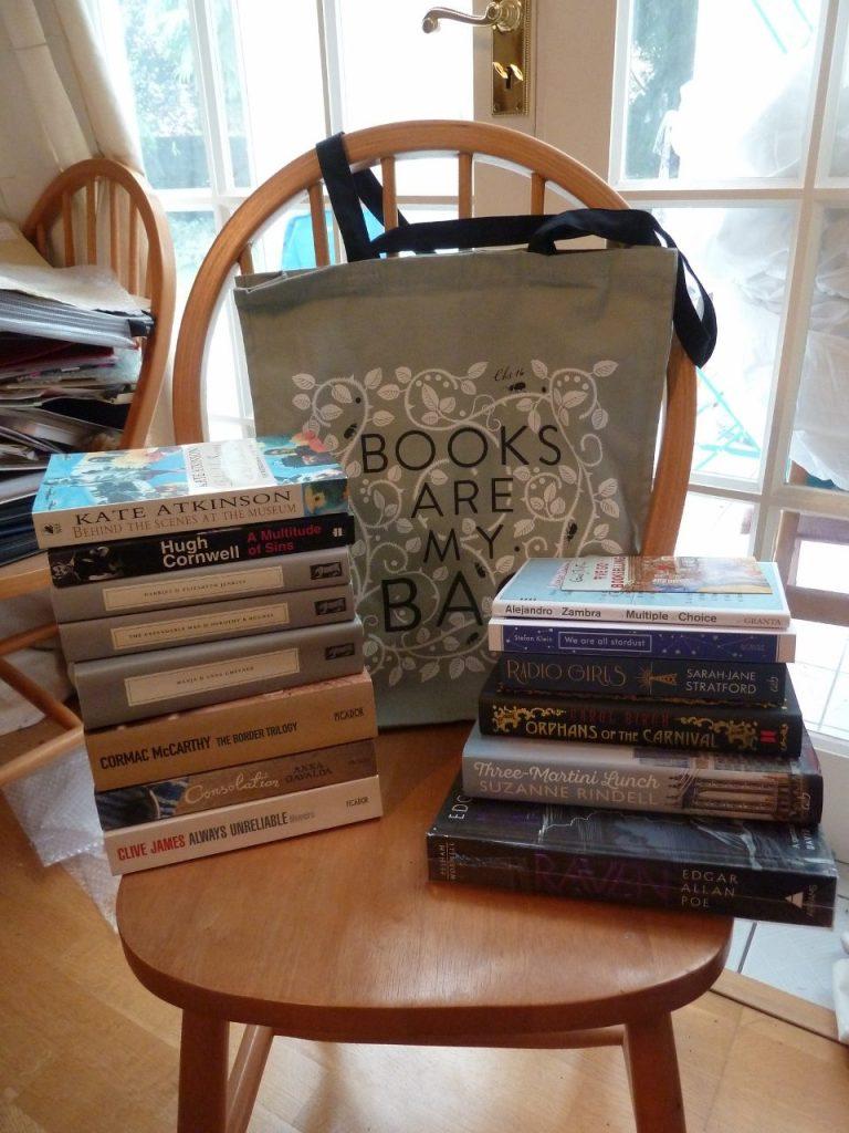 Books Are My Bag & a local book sale - My super Saturday book haul