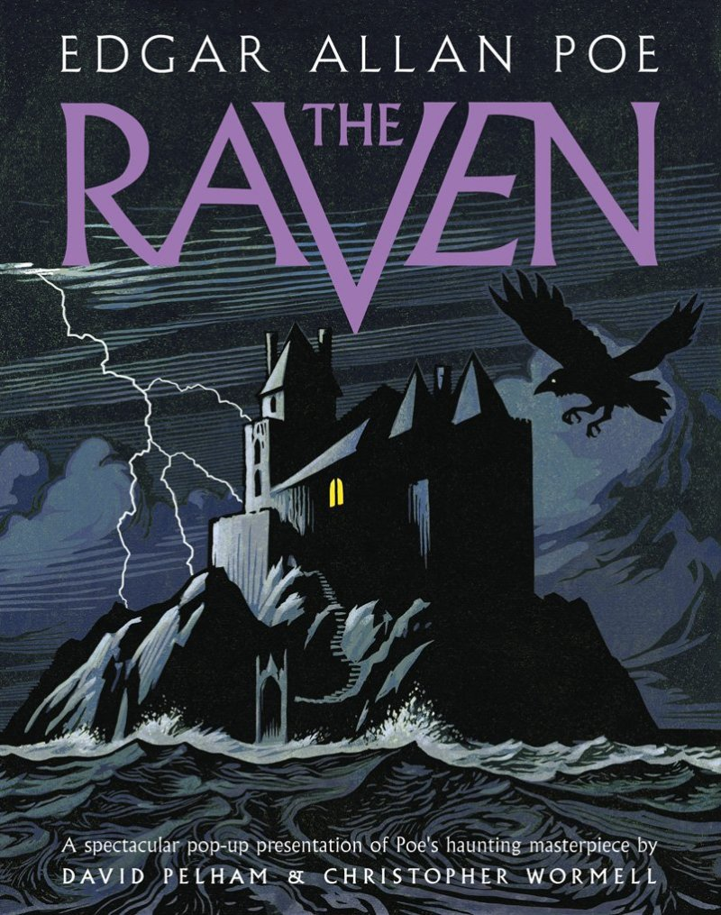 'Quoth the raven, 'Nevermore'.' ...