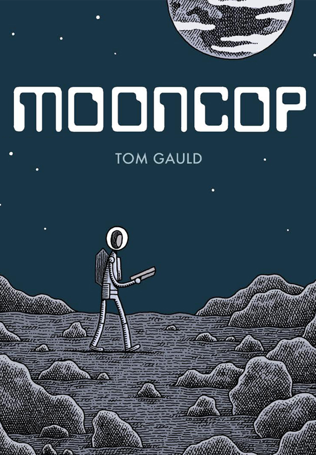 A dead-pan but touching graphic  novel ...
