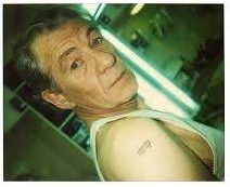 Nine McKellen Elvish '9' Tattoo