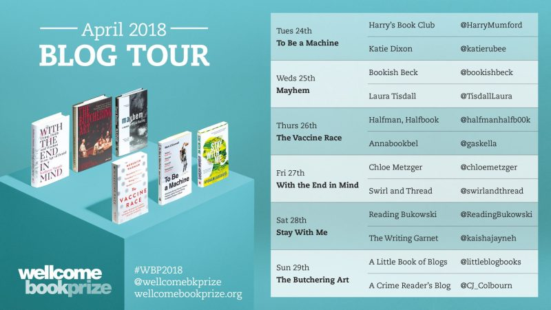 Wellcome Book Prize Blog Tour