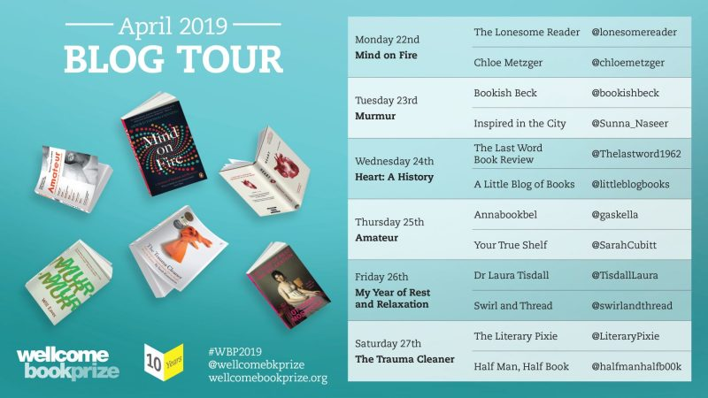 Wellcome Book Prize Blog Tour - Amateur