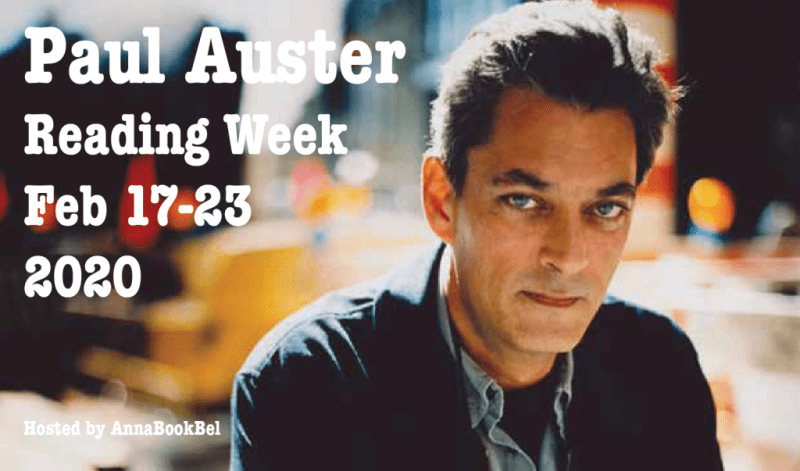 Introducing Paul Auster Reading Week 17-23 Feb & Sign-up