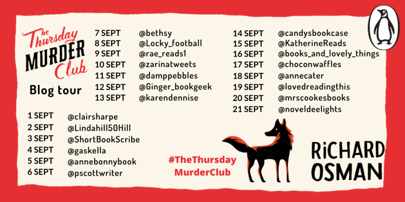 The Thursday Murder Club by Richard Osman - Blog Tour