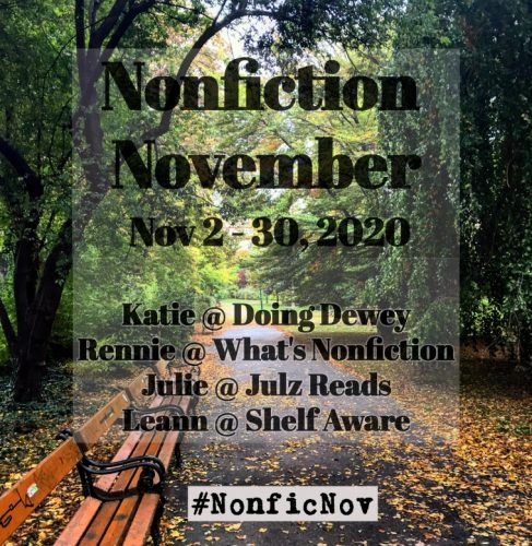 Nonfiction November - Week 3 - Be/Ask/Become the Expert