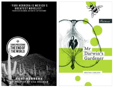 Two more indies in translation: Yuri Herrera and Kristina Carlson