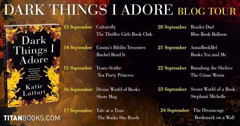 Dark Things I Adore by Katie Lattari - Blog Tour