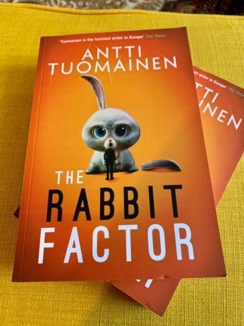 Blog Tour - The Rabbit Factor - Antti Tuomainen
