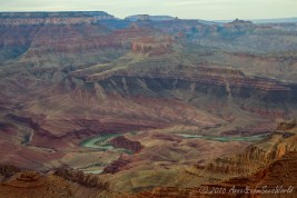 Colorado river from Lipan Point