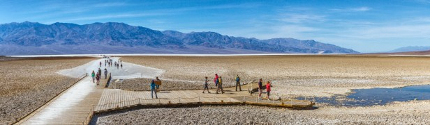 Badwater Basin, the lowest elevation point in North America