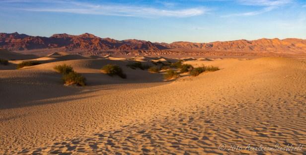 Mesquite Flat Sand Dunes, Death Valley California