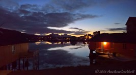 Sunset in Ballstad