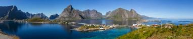 View from Olenilsøya in Lofoten Islands, Norway