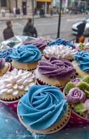 Amazing cupcakes in Bibi's Bakery