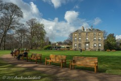 Inverleith House from 1773 in the Royal Botanic Gardens