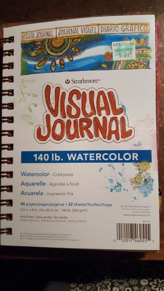 Stathmore Visual Journal Watercolor