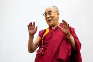 Dalai Lama, photographer Tim Steadman