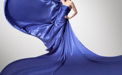 Che trucco usare con un vestito blu