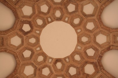 although the ceiling inside the dome was cool...THE ANGELS MUST BE GUARDING SOMETHING.