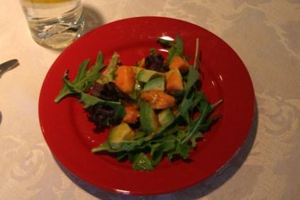 Salad. ;) More papaya. <3
