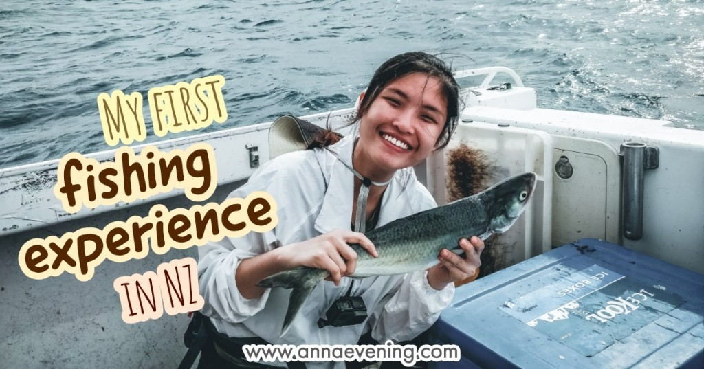 My first fishing experience in New Zealand Header Image