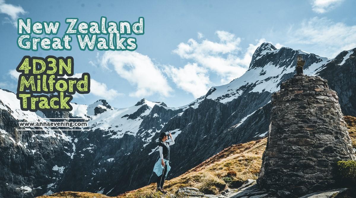 New Zealand Great Walks Milford Track header image