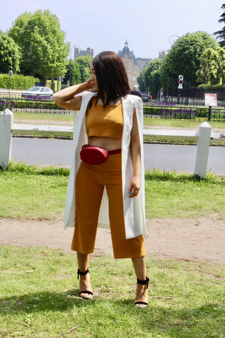 inspiration look ensemble jaune moutarde
