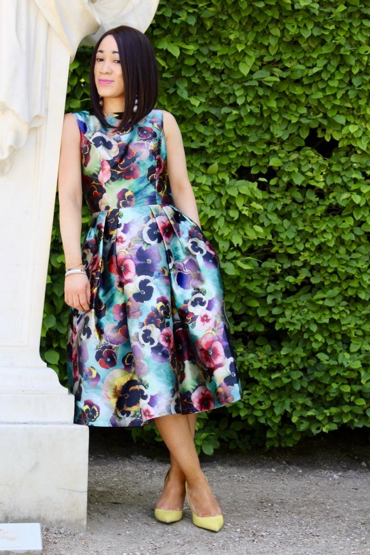 inspiration look robe fleurs