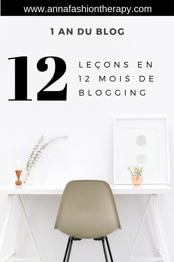 12 mois blogging un an du blog