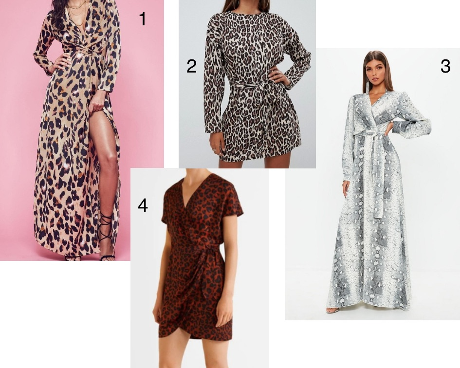 robes imprimés animal