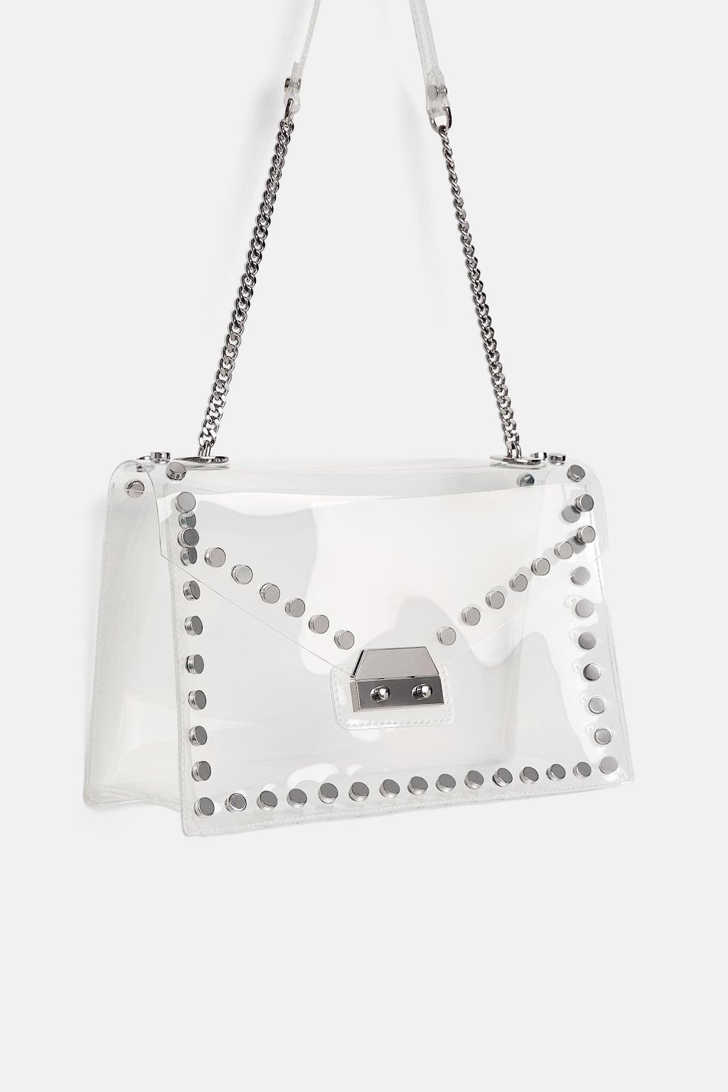 sac vinyle à clous