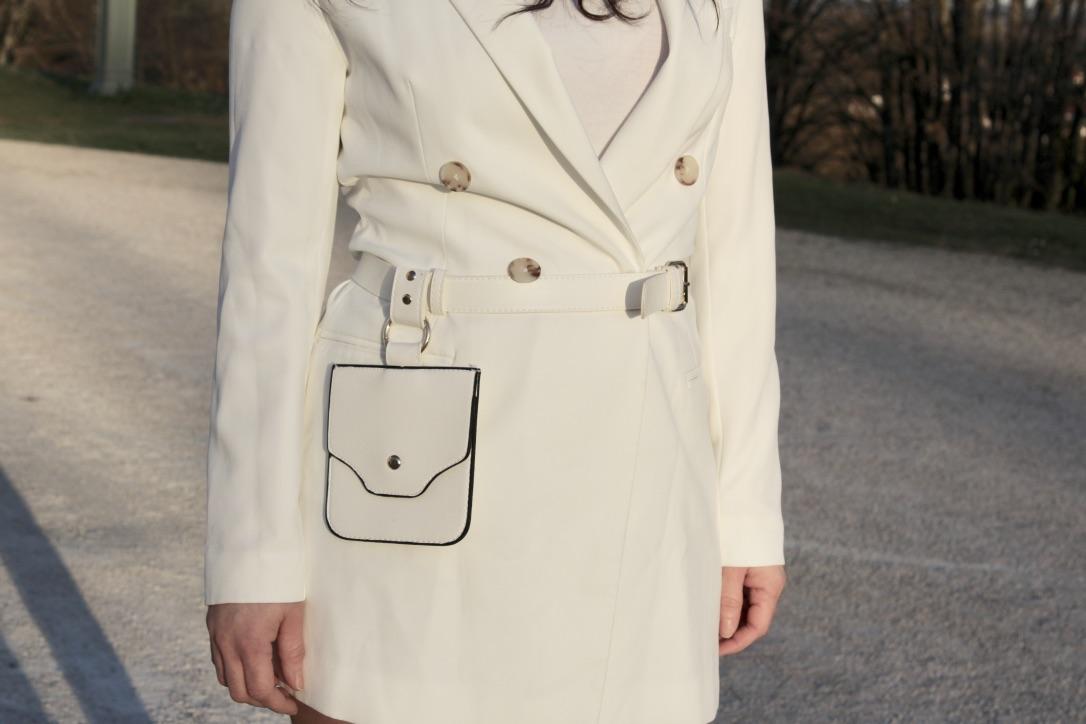 sac ceinture blanc