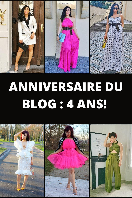 anniversaire du blog, 4 ans de blogging