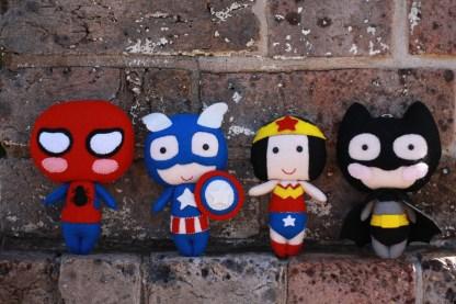 Comic Con Superheros