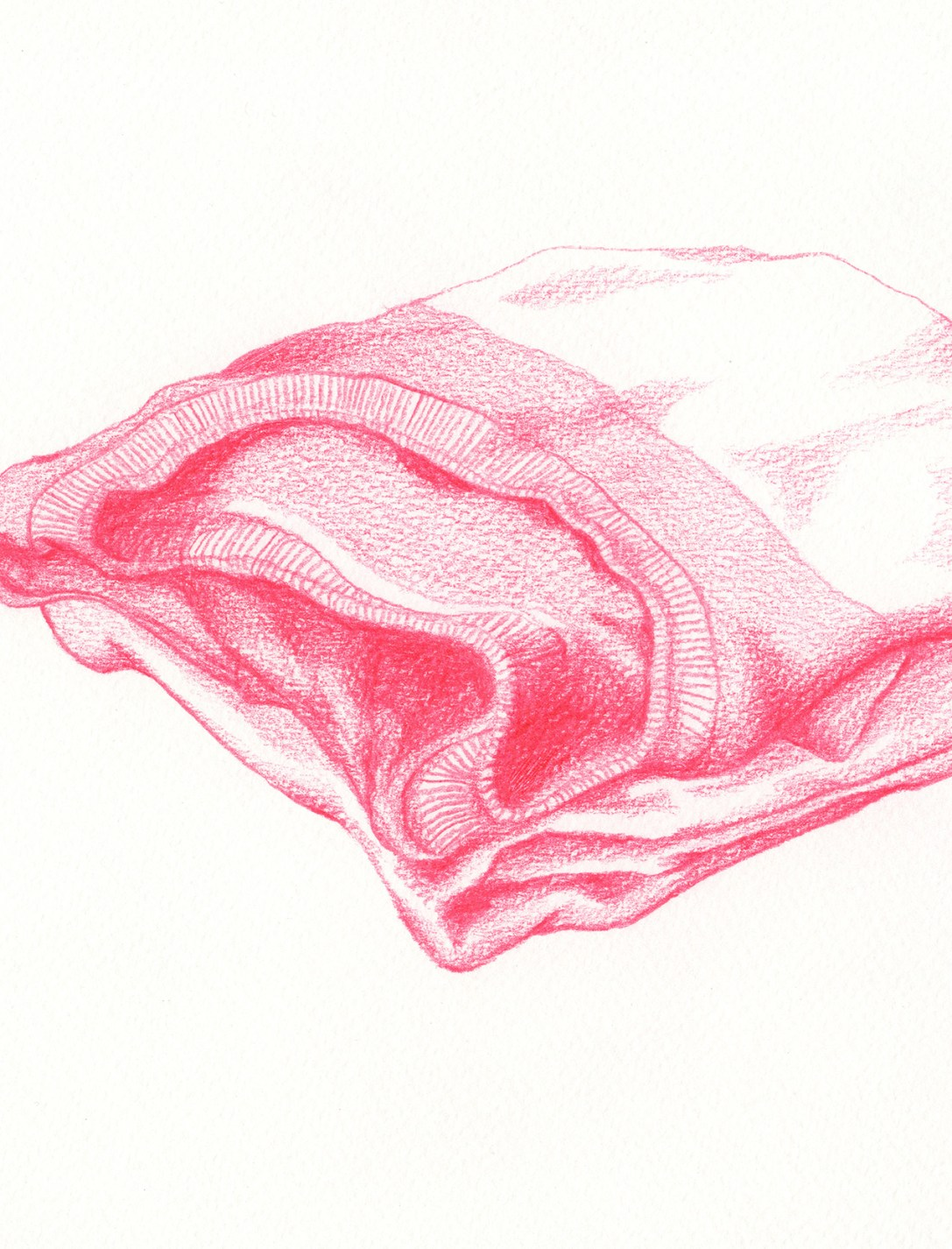 FOLDED | pencil on paper