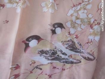 Sjaal met vogel