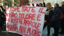 Manifestazione pro terremotati, i cittadini-sindaco