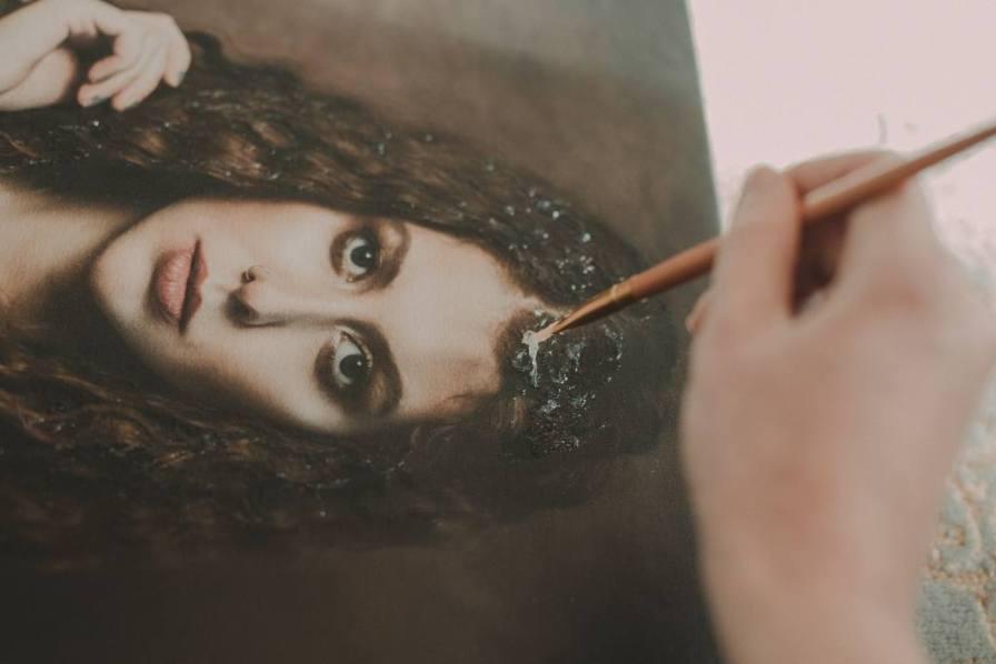 Canvas painting Ireland