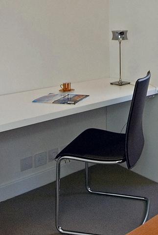 A 2-bed apartment in Bayswater - Study - ©Anna Hansson Design Ltd